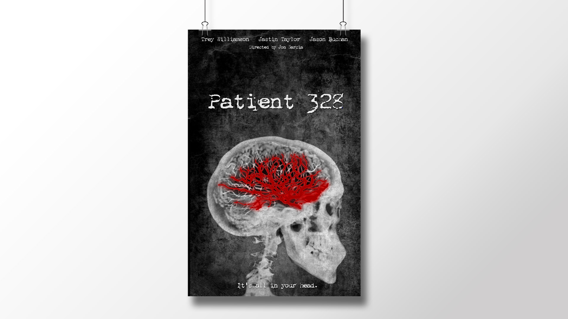 """Patient 328"" Official Movie Poster"