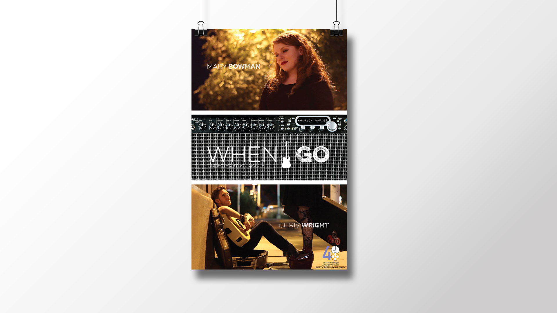 """When I Go"" Movie Poster"