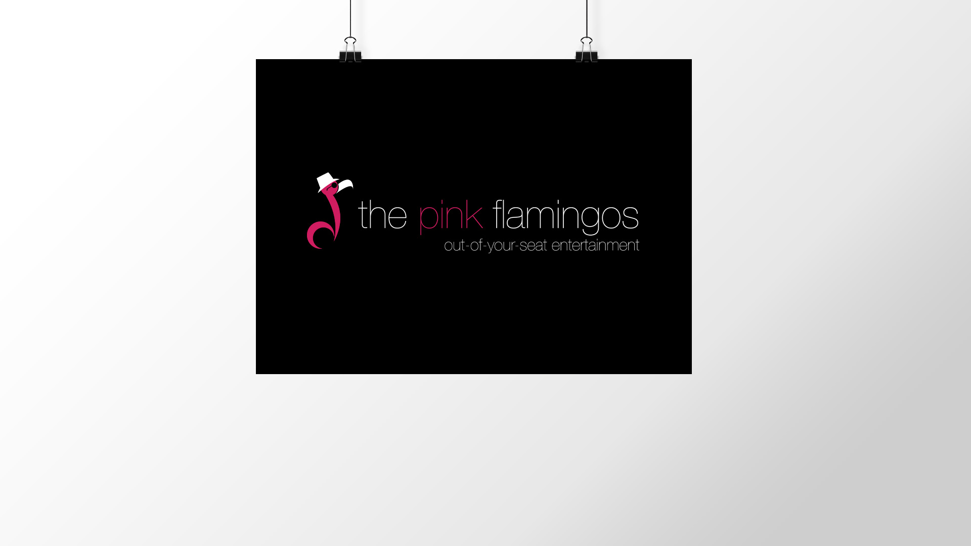 """The Pink Flamingos"" Logo"