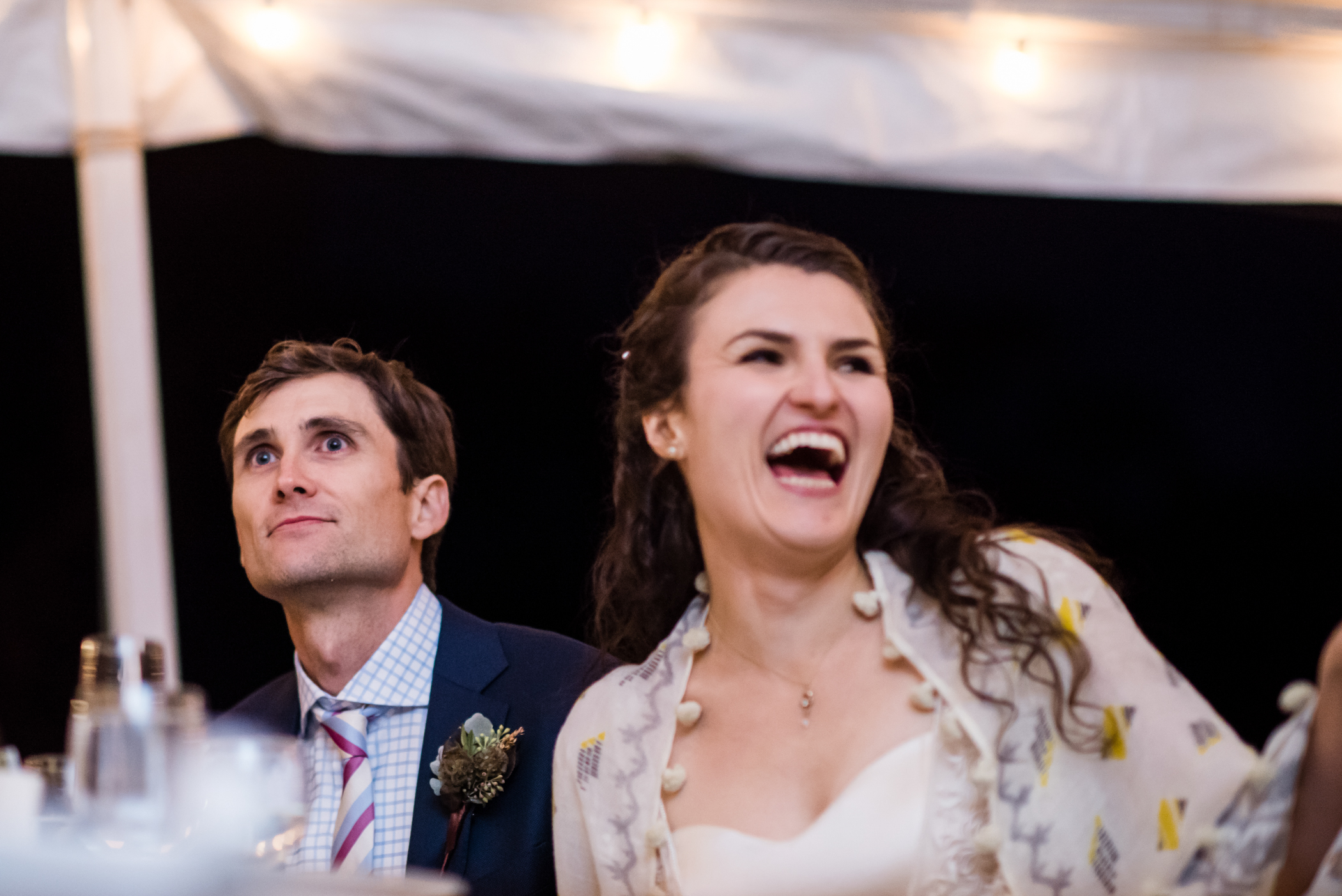 Stefy Hilmer Photography -bride is laughing during bridesmaid speech.jpg