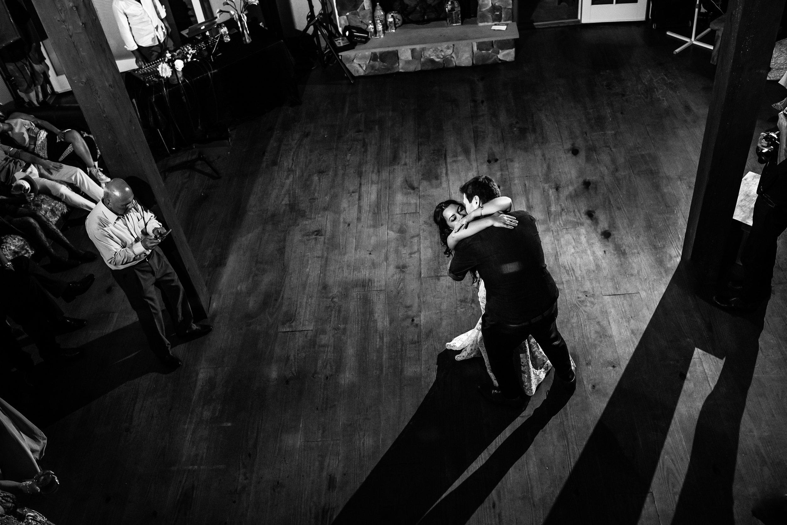 Stefy Hilmer Photography -bride and groom hug during wedding reception .jpg
