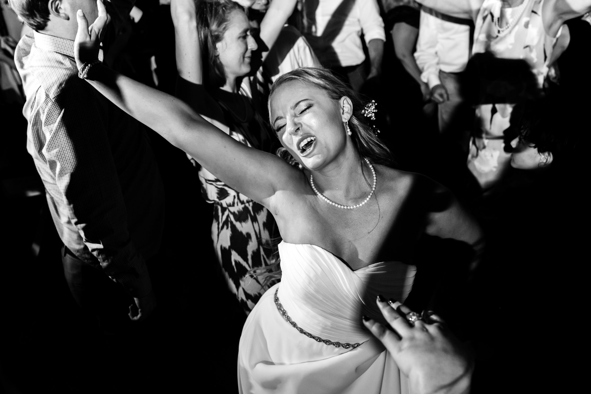 Stefy Hilmer Photography- bride going nuts during wedding reception.jpg