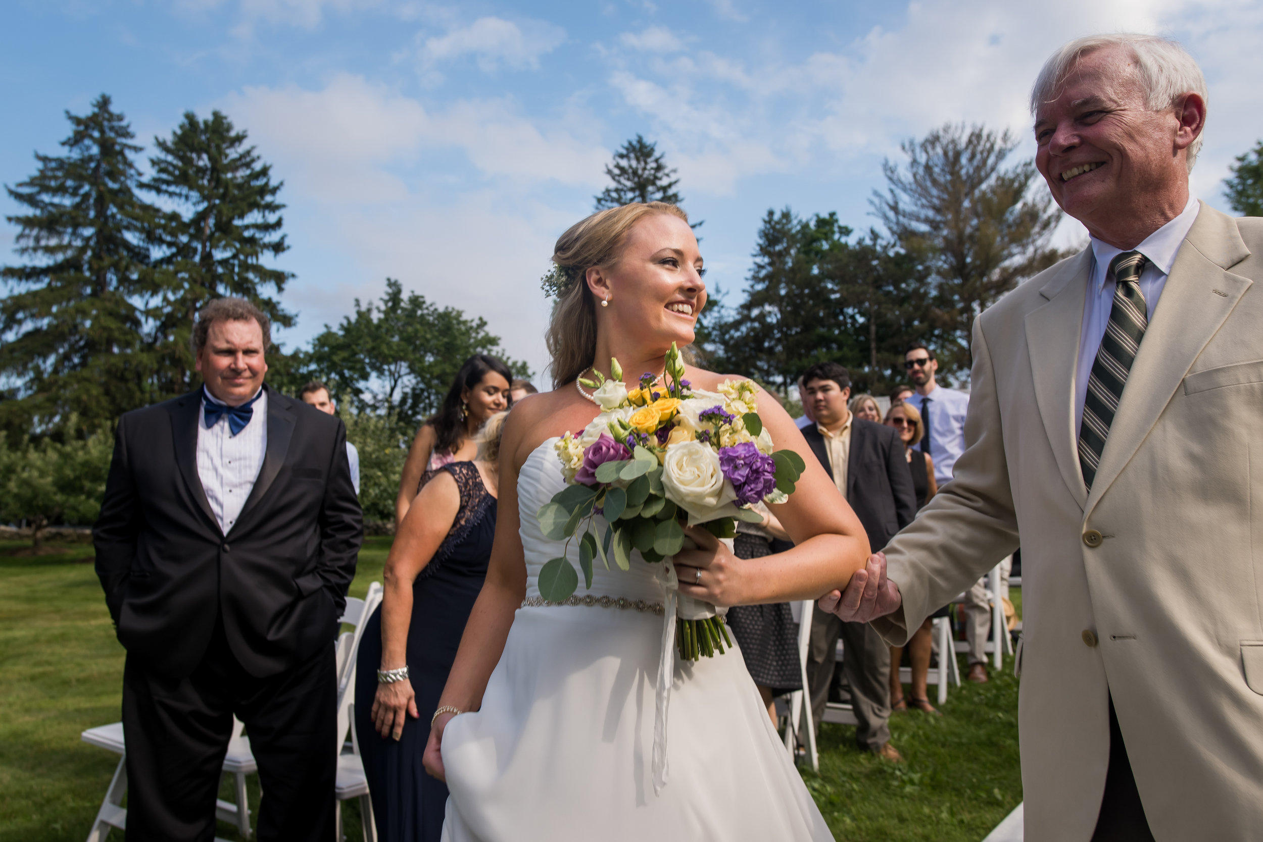 Stefy Hilmer Photography- father of the bride is walking her down the aisle.jpg