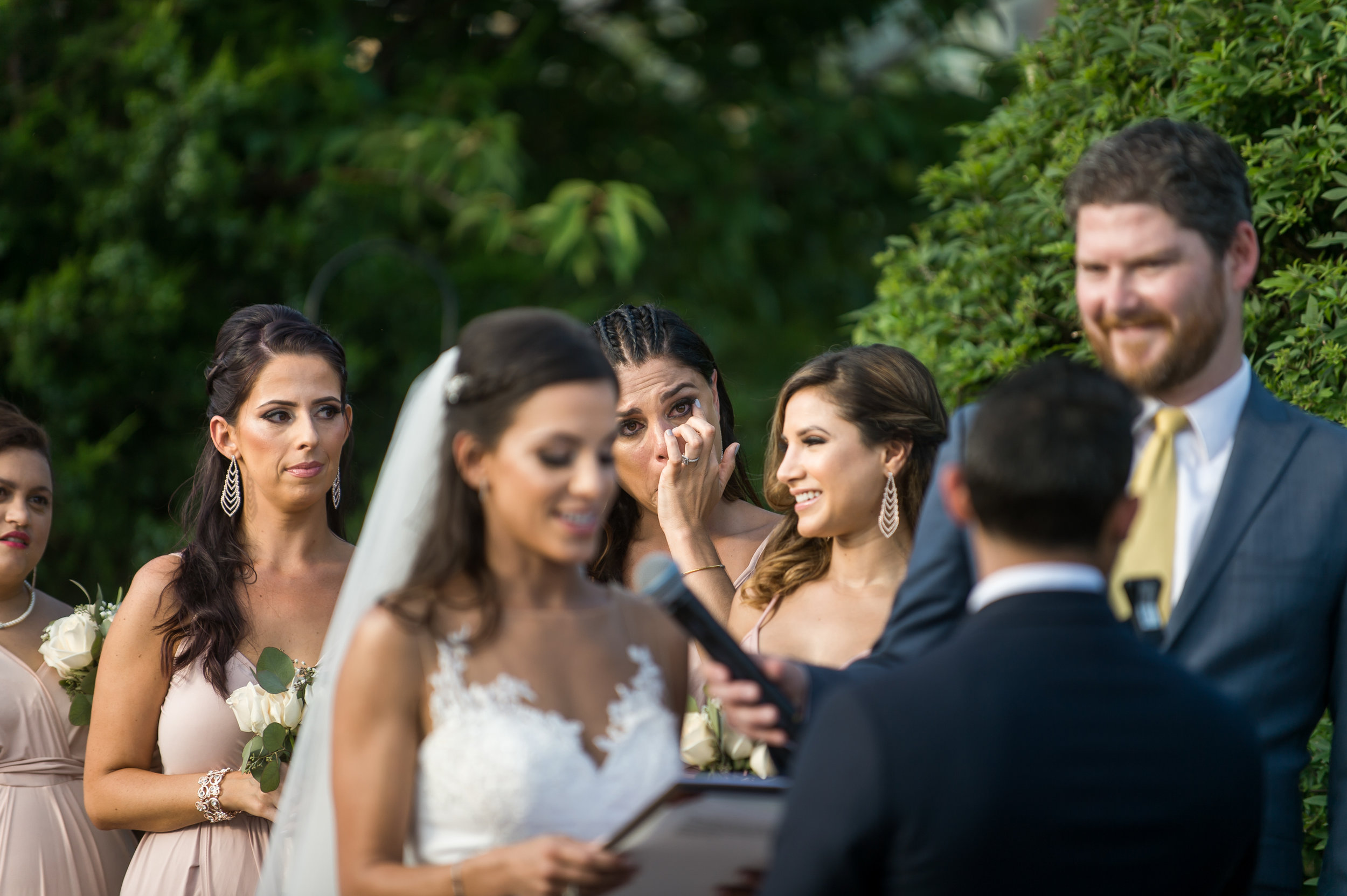Stefy Hilmer Photography- bridesmaid crying during ceremony.jpg