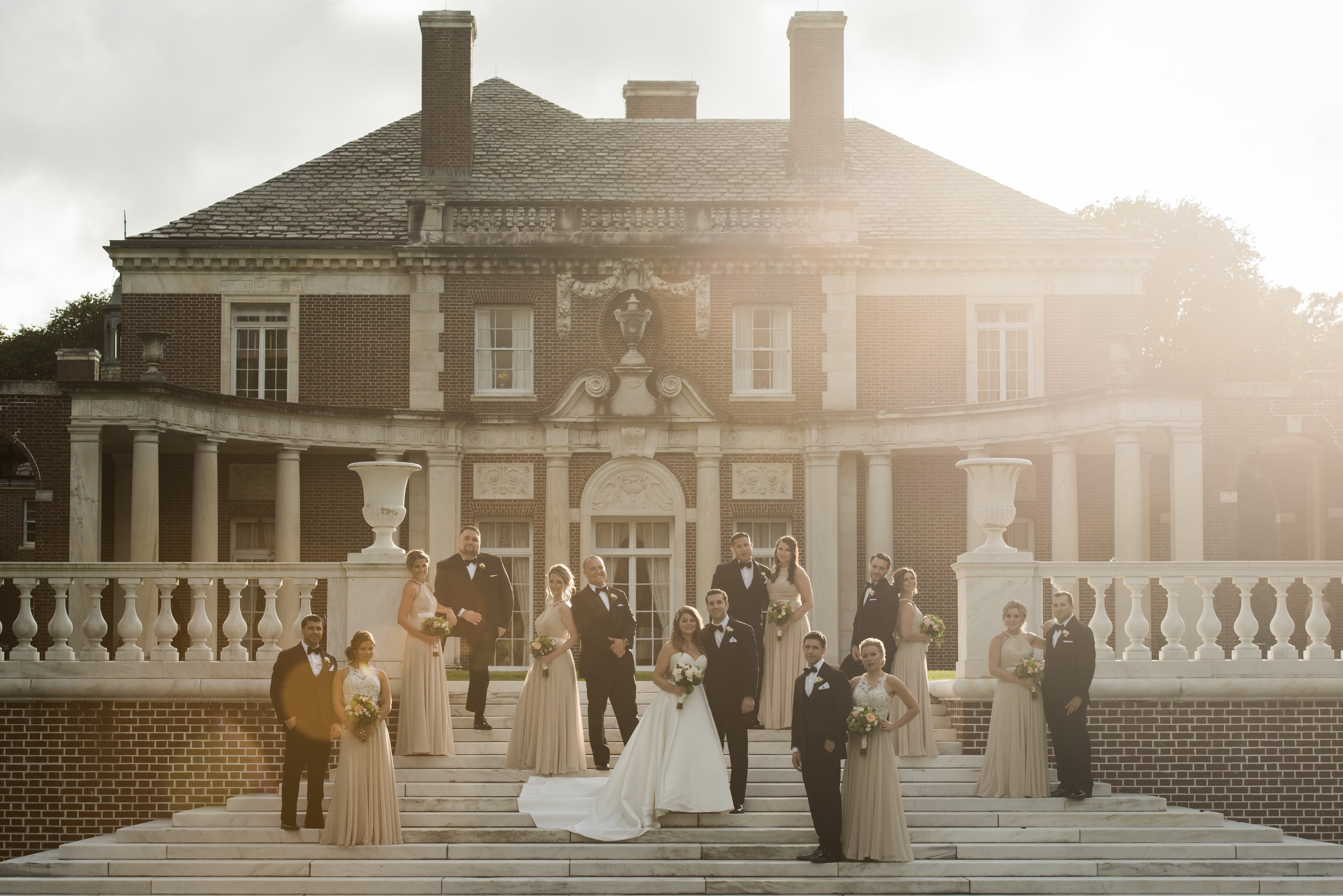 Stefy Hilmer Photography-bridal party photo in front of the Seversky Mansion.jpg