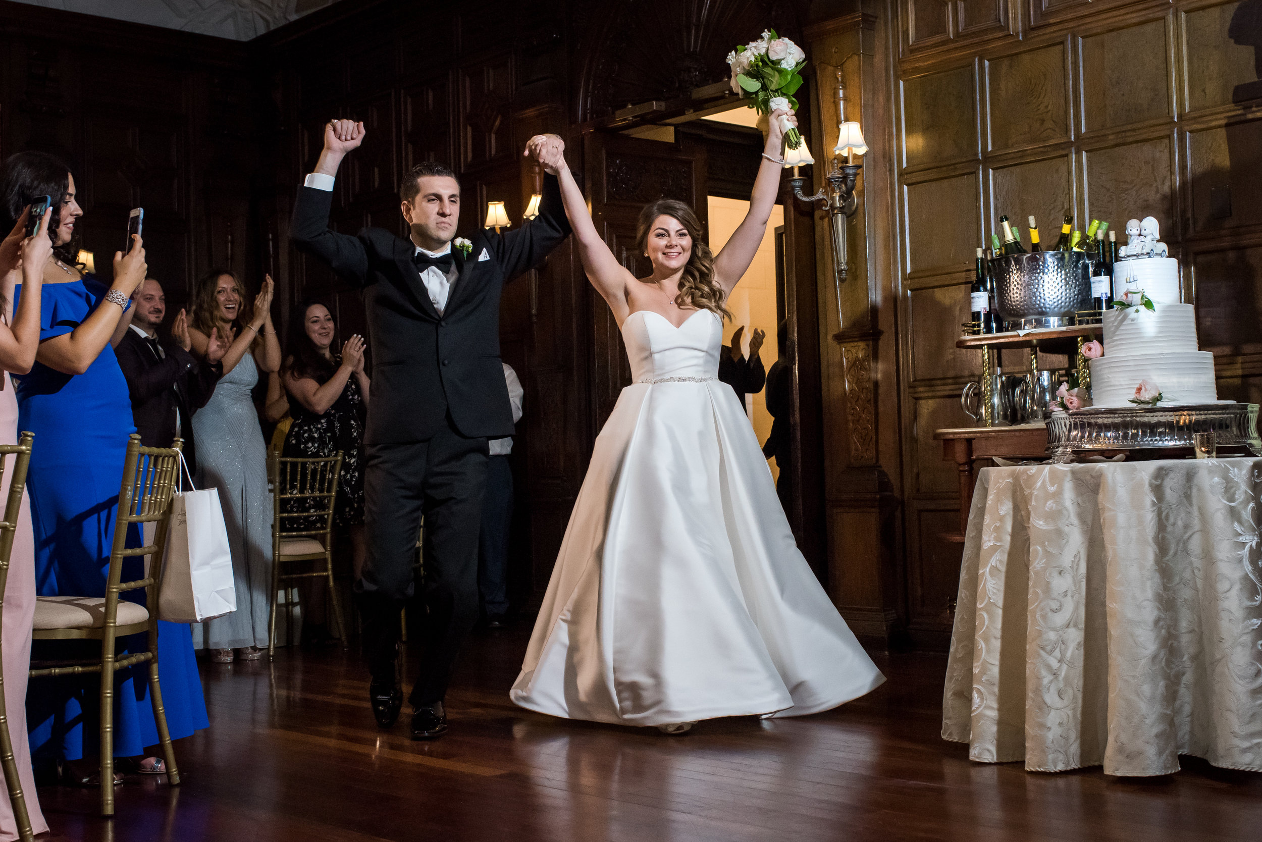 Stefy Hilmer Photography-bride and groom entering ball room.jpg
