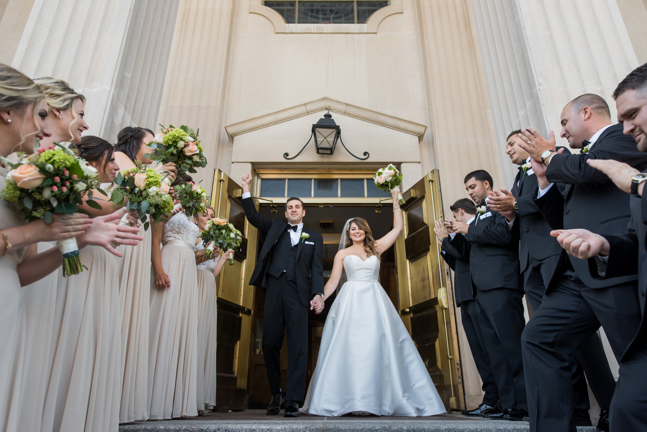 Stefy Hilmer Photography-bride and groom exiting church.jpg