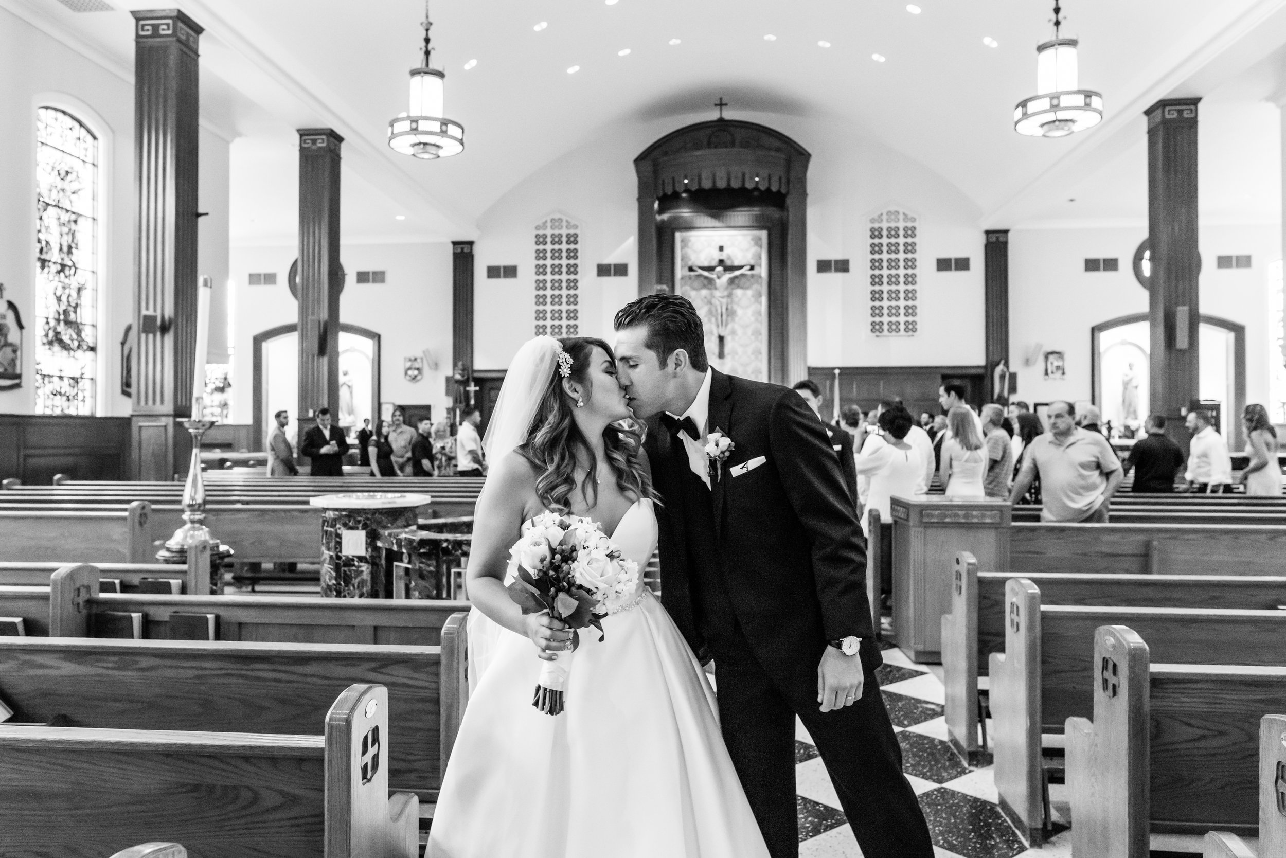Stefy Hilmer Photography-bride and groom kissing in church.jpg