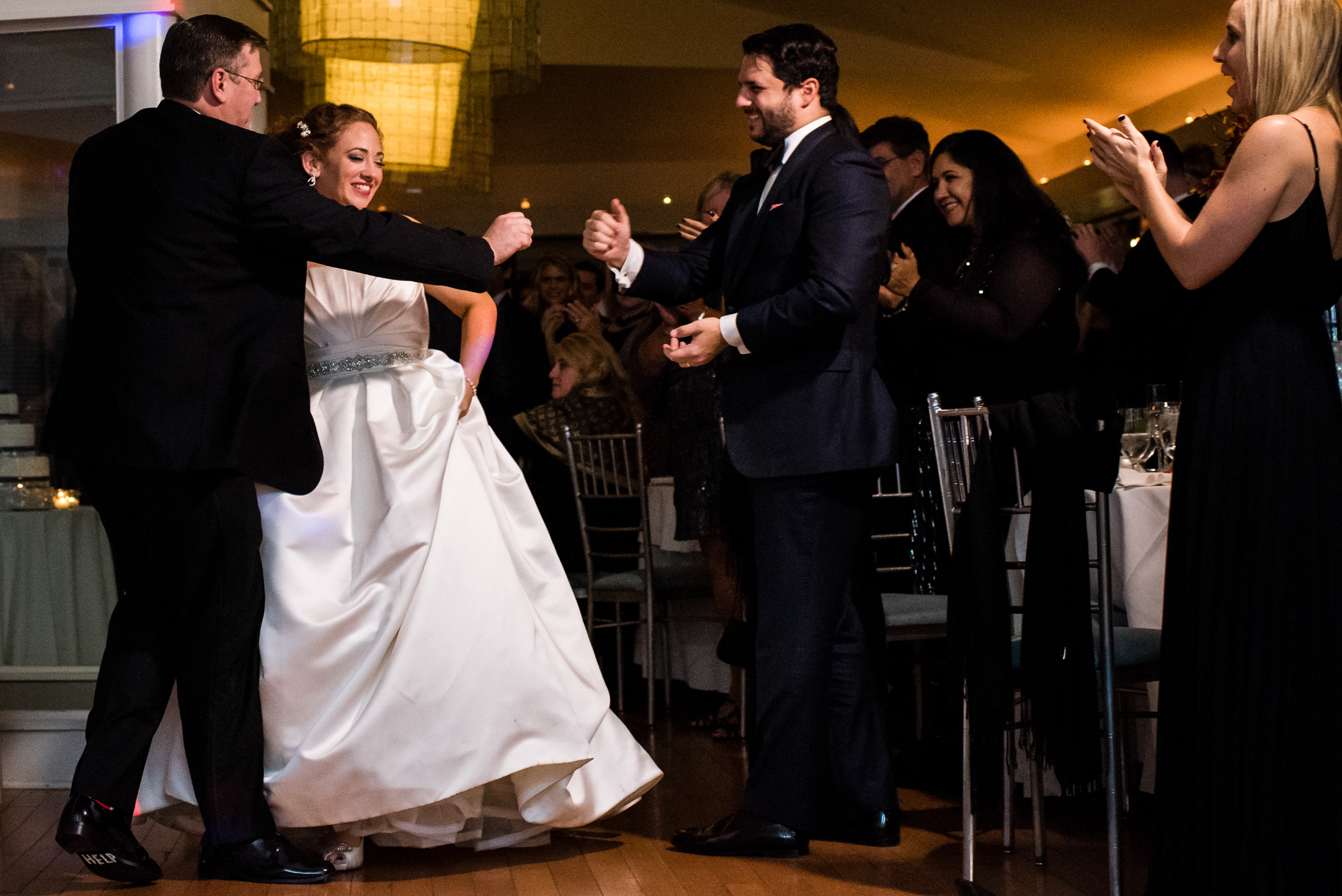 Stefy Hilmer Photography-bride and groom walking into the reception hall.jpg