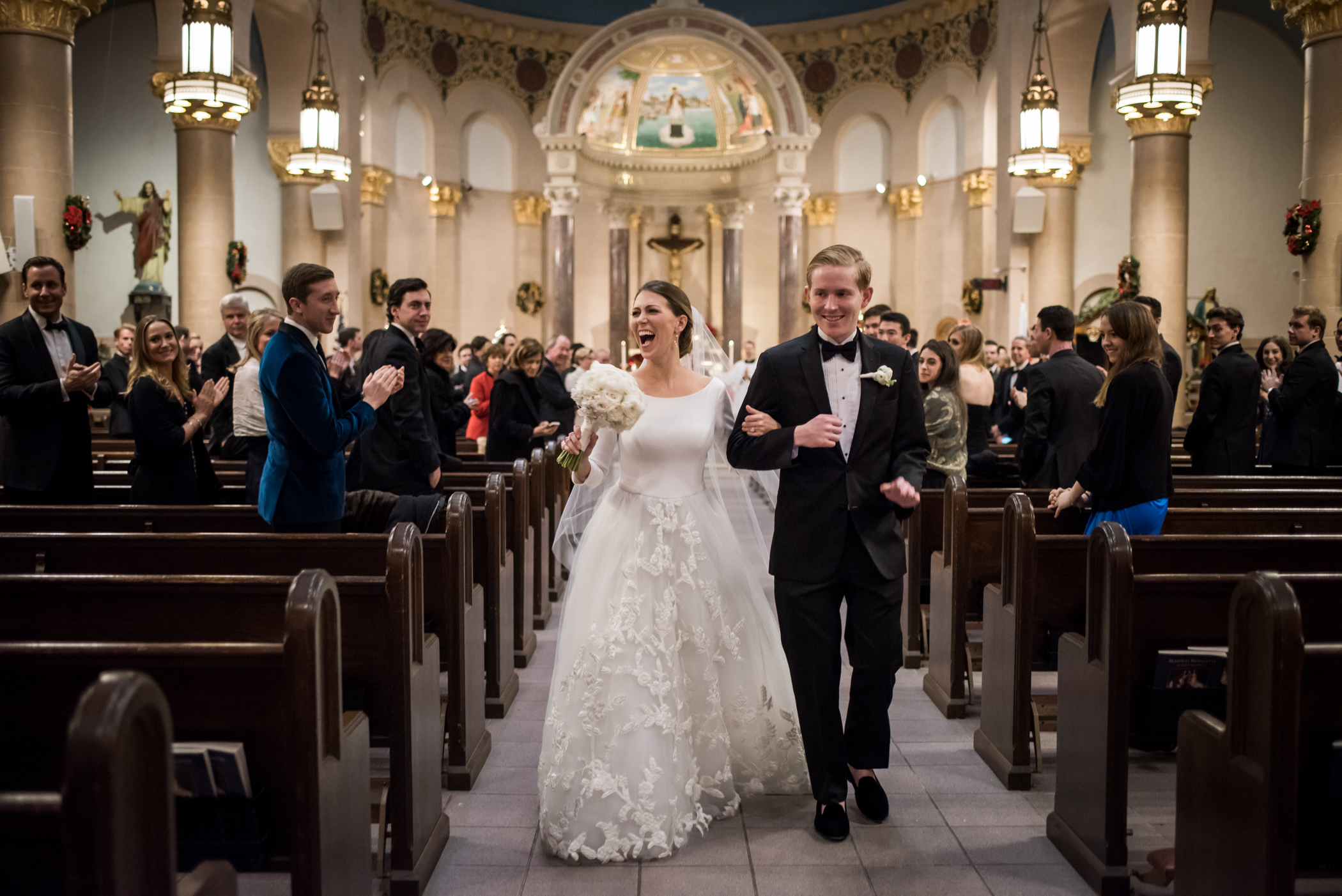Stefy Hilmer Photography-bride and groom walking down the aisle after they said i do.jpg