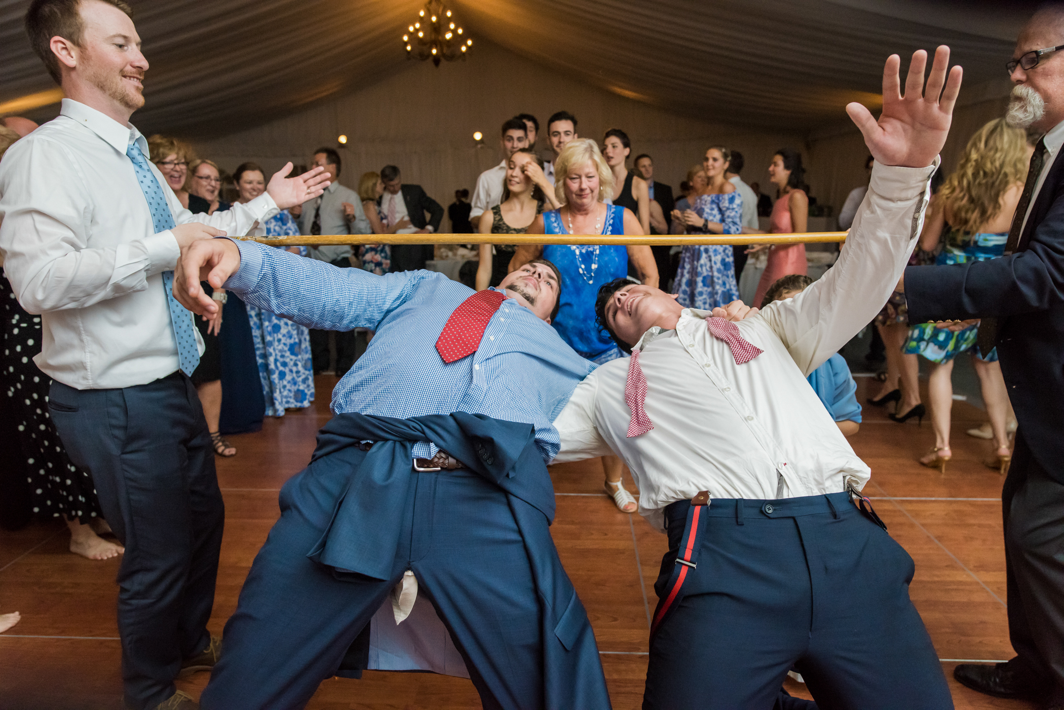 Stefy Hilmer Photography-limbo dancing at wedding reception.jpg