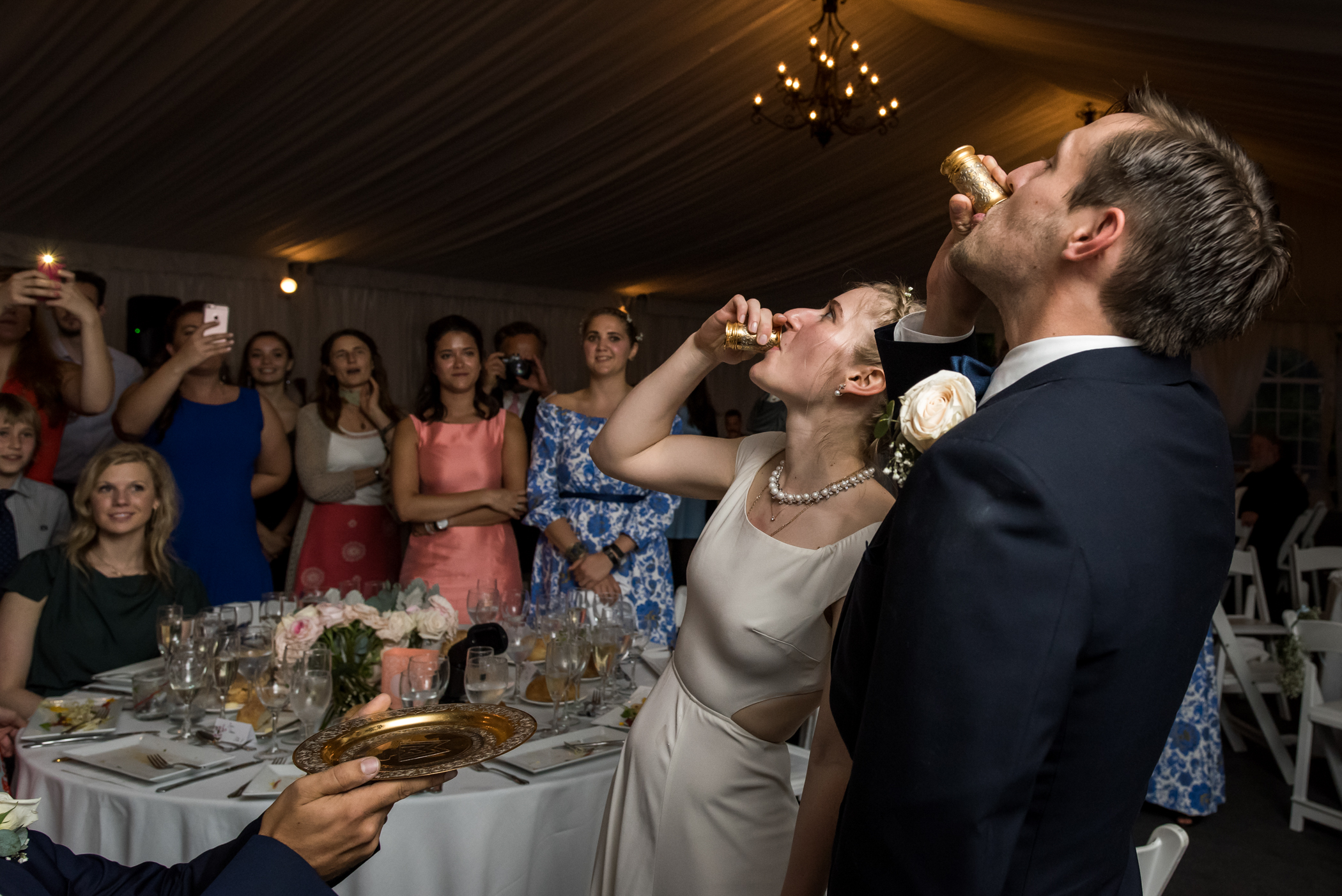Stefy Hilmer Photography-russian drinking ritual during wedding reception.jpg