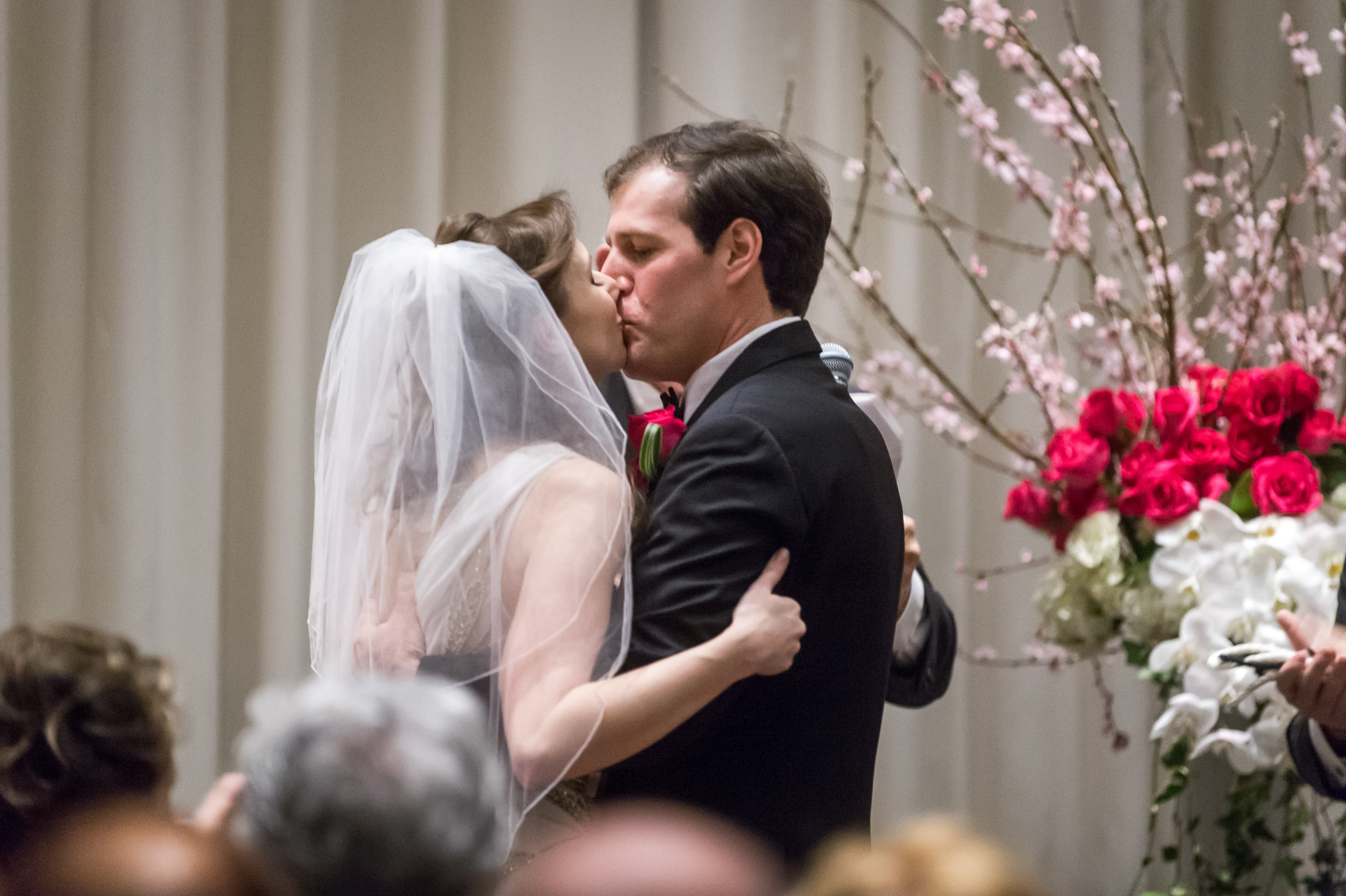 Stefy Hilmer Photography-bride and groom first kiss.jpg