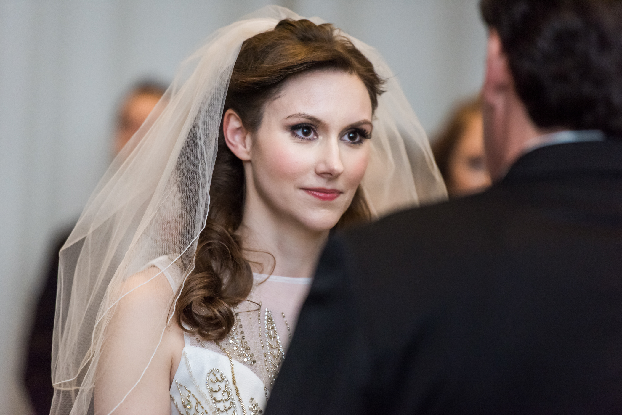 Stefy Hilmer Photography-bride looking at her groom during the wedding ceremony.jpg