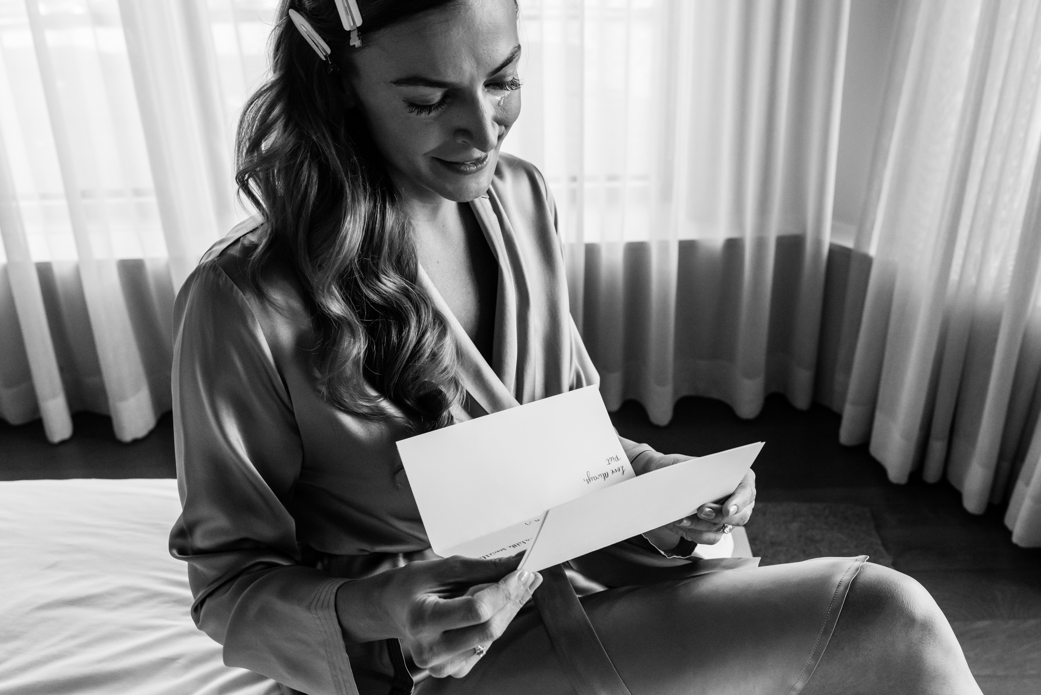 Stefy Hilmer Photography-bride is reading card from his groom.jpg