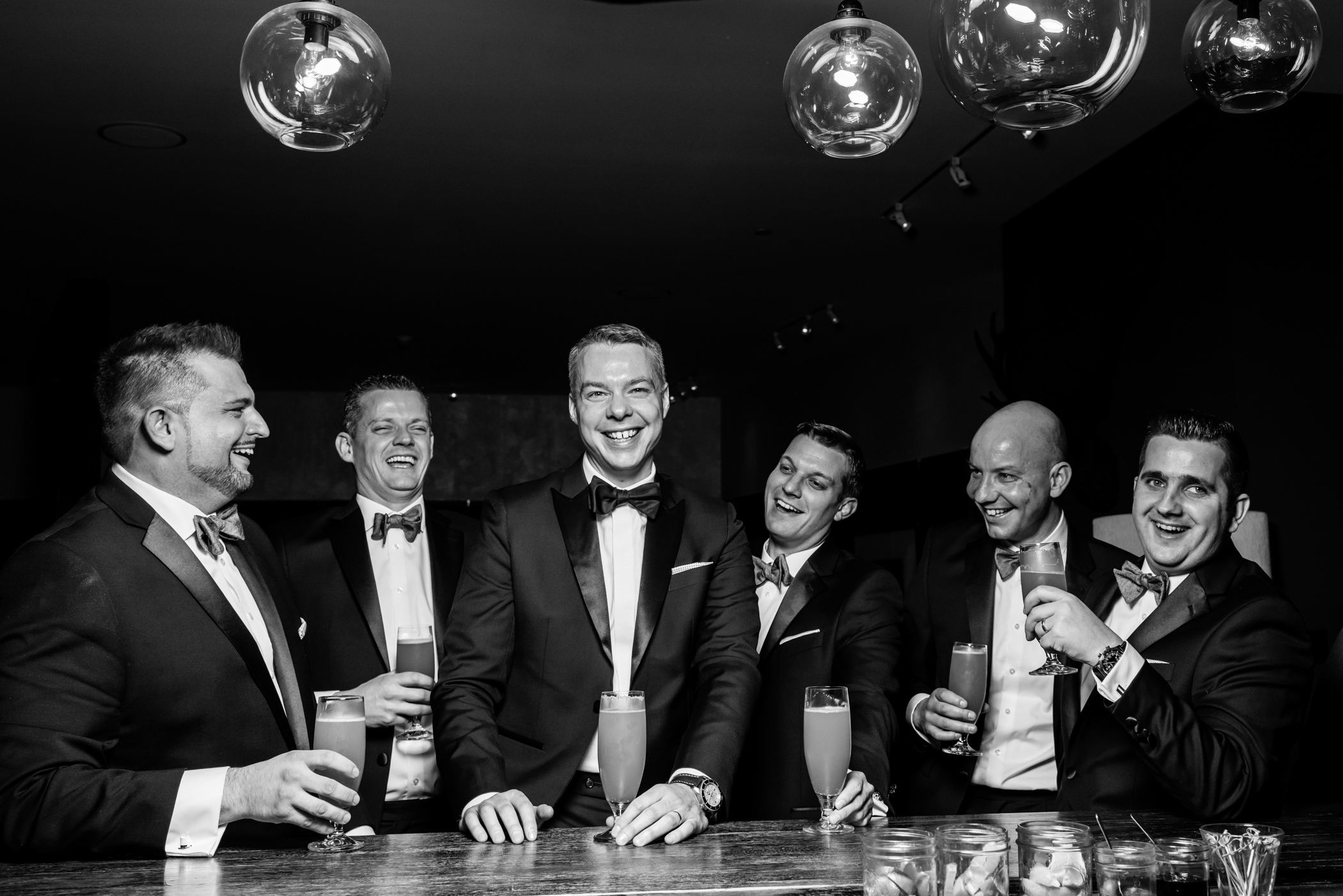 Stefy Hilmer Photography-groomsmen photo at the bar at the Roundhouse in Beacon.jpg
