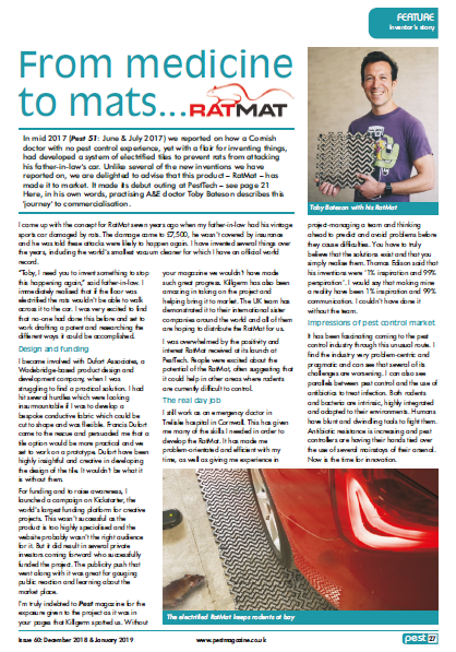 Toby Bateson RatMat Interview