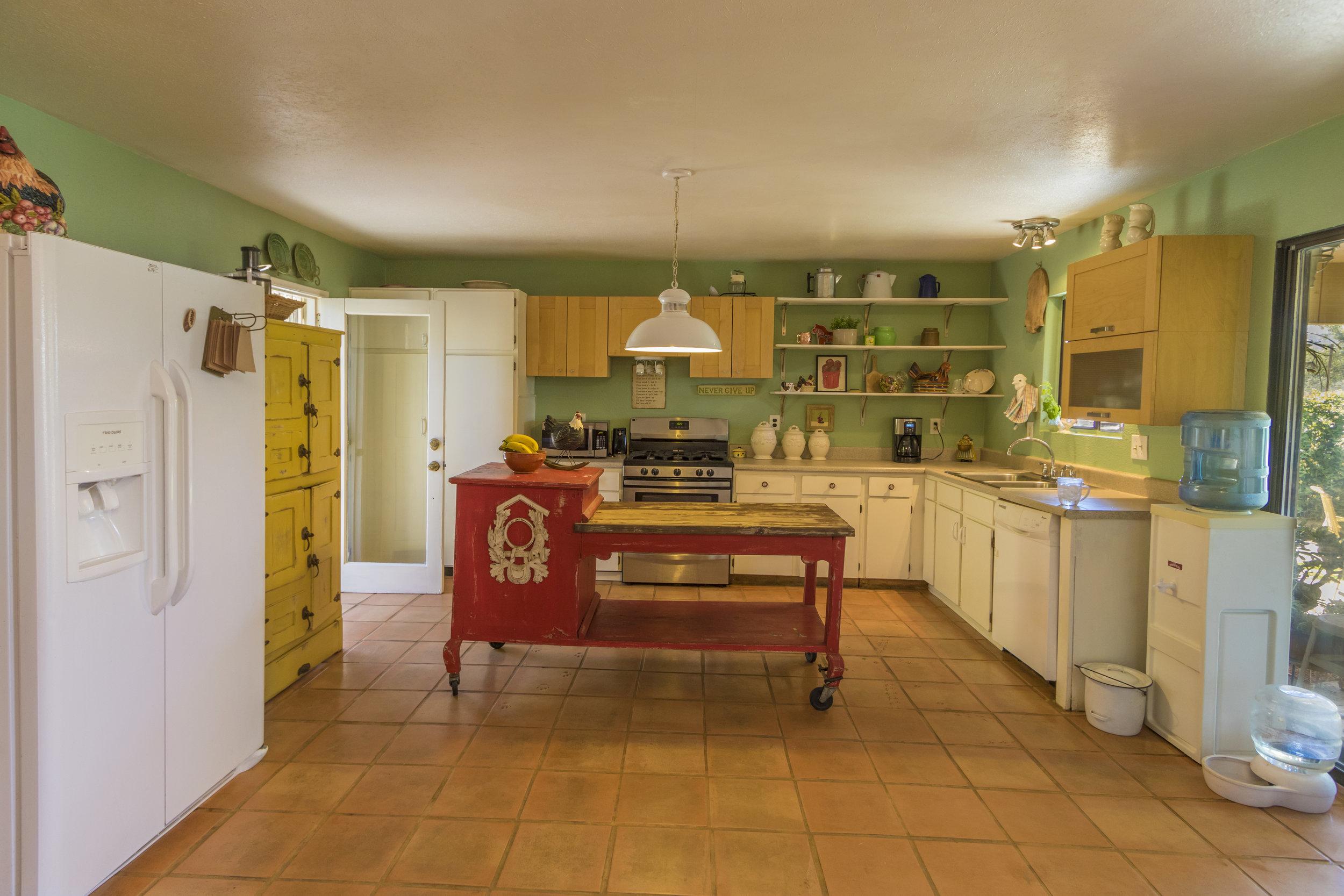 Davis Rd farm kitchen