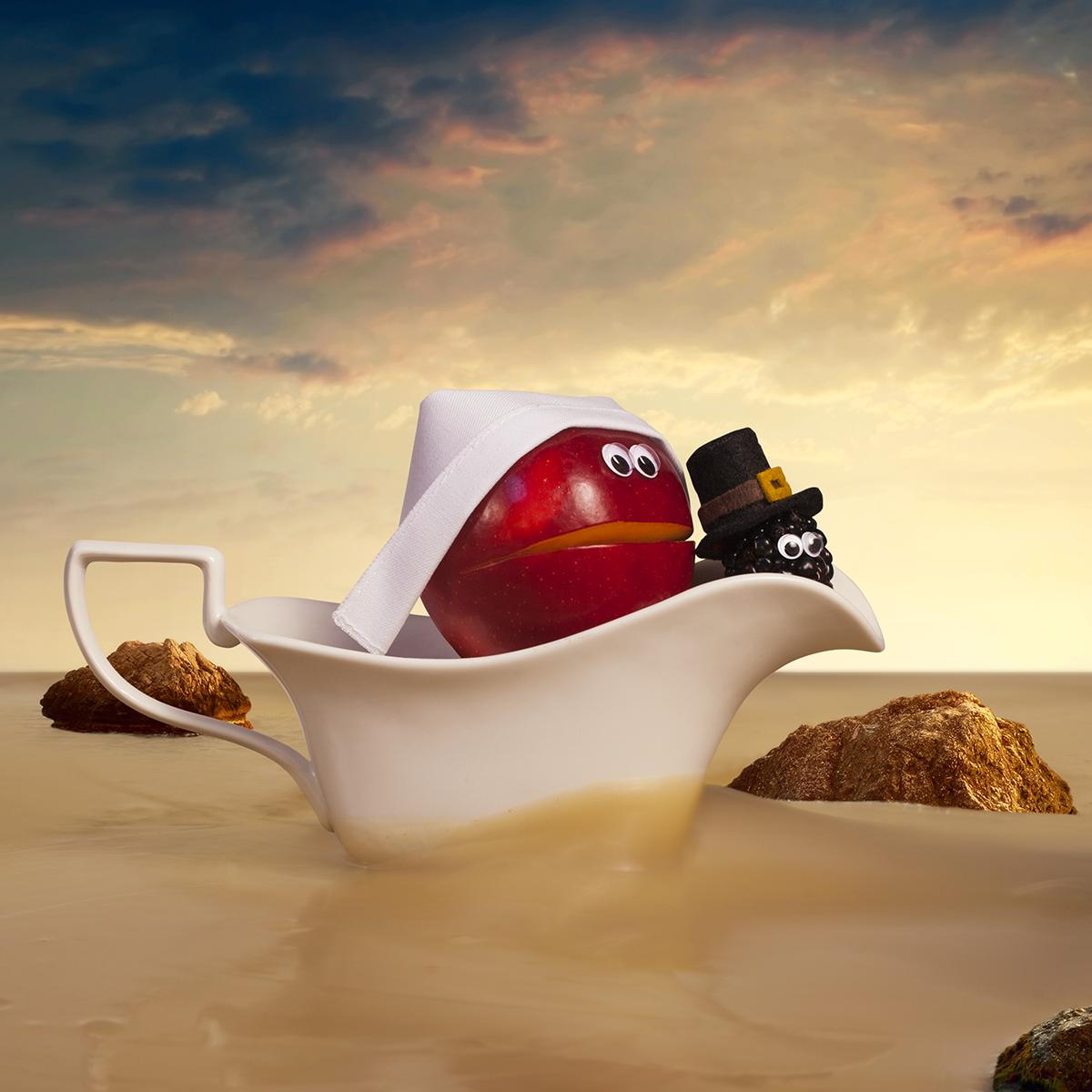 """""""Sweet gravy boat! They must be en route to Turkey Rock. """""""