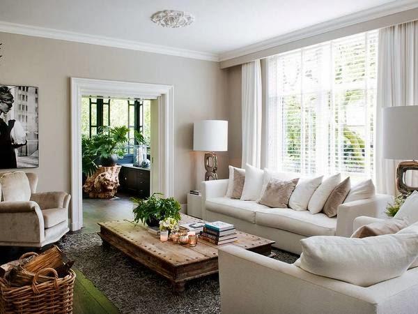 chic living room the decorista