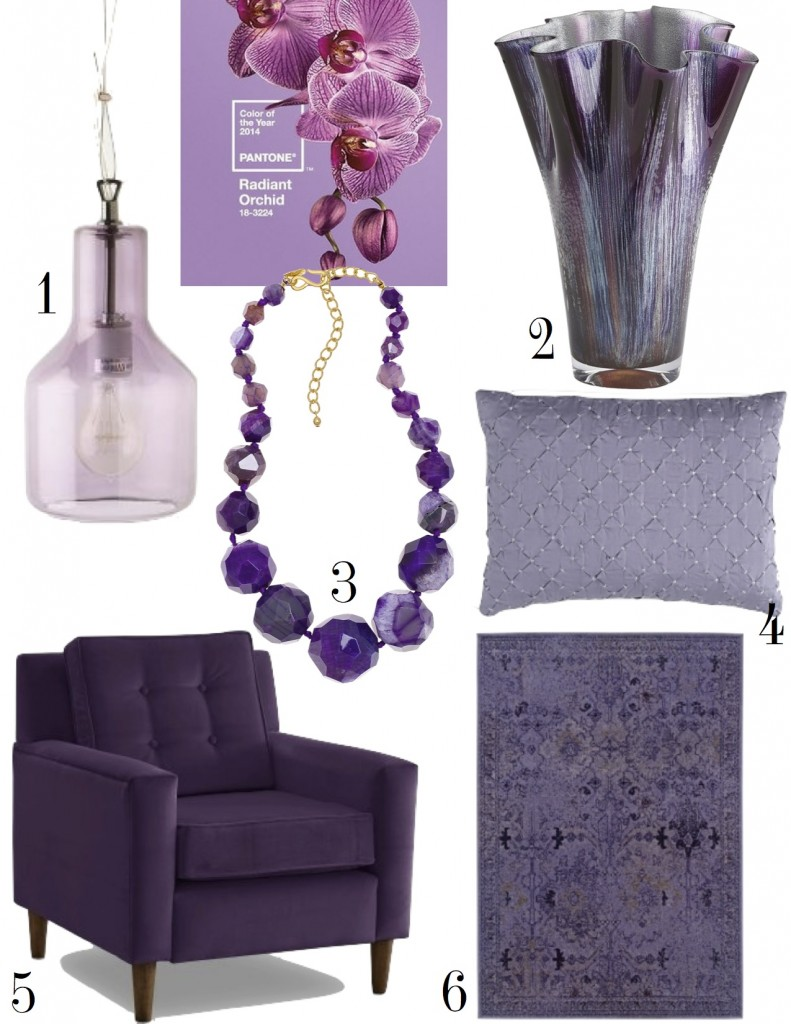 radiant orchid the decorista