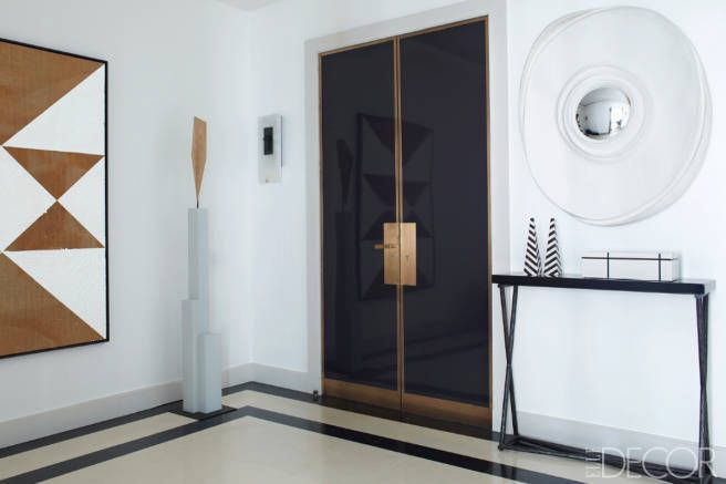 black door elle decor