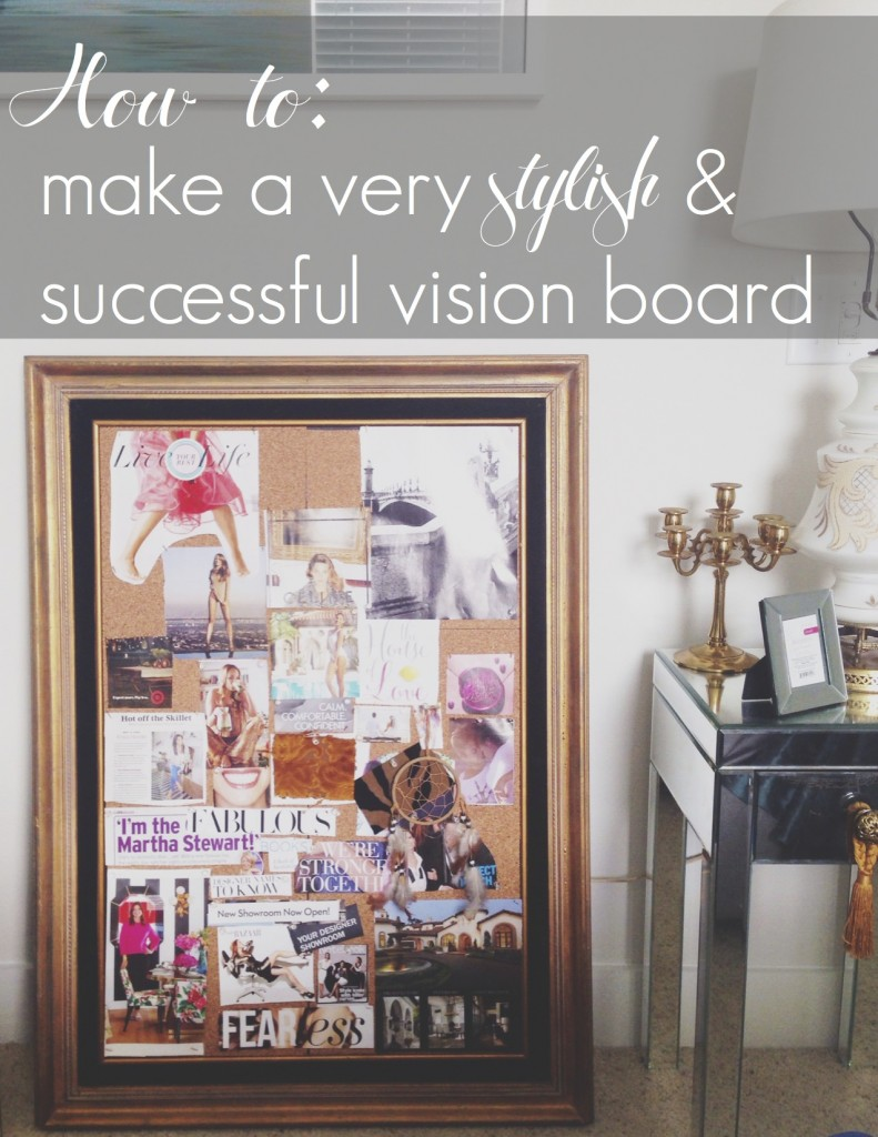 how to vision board