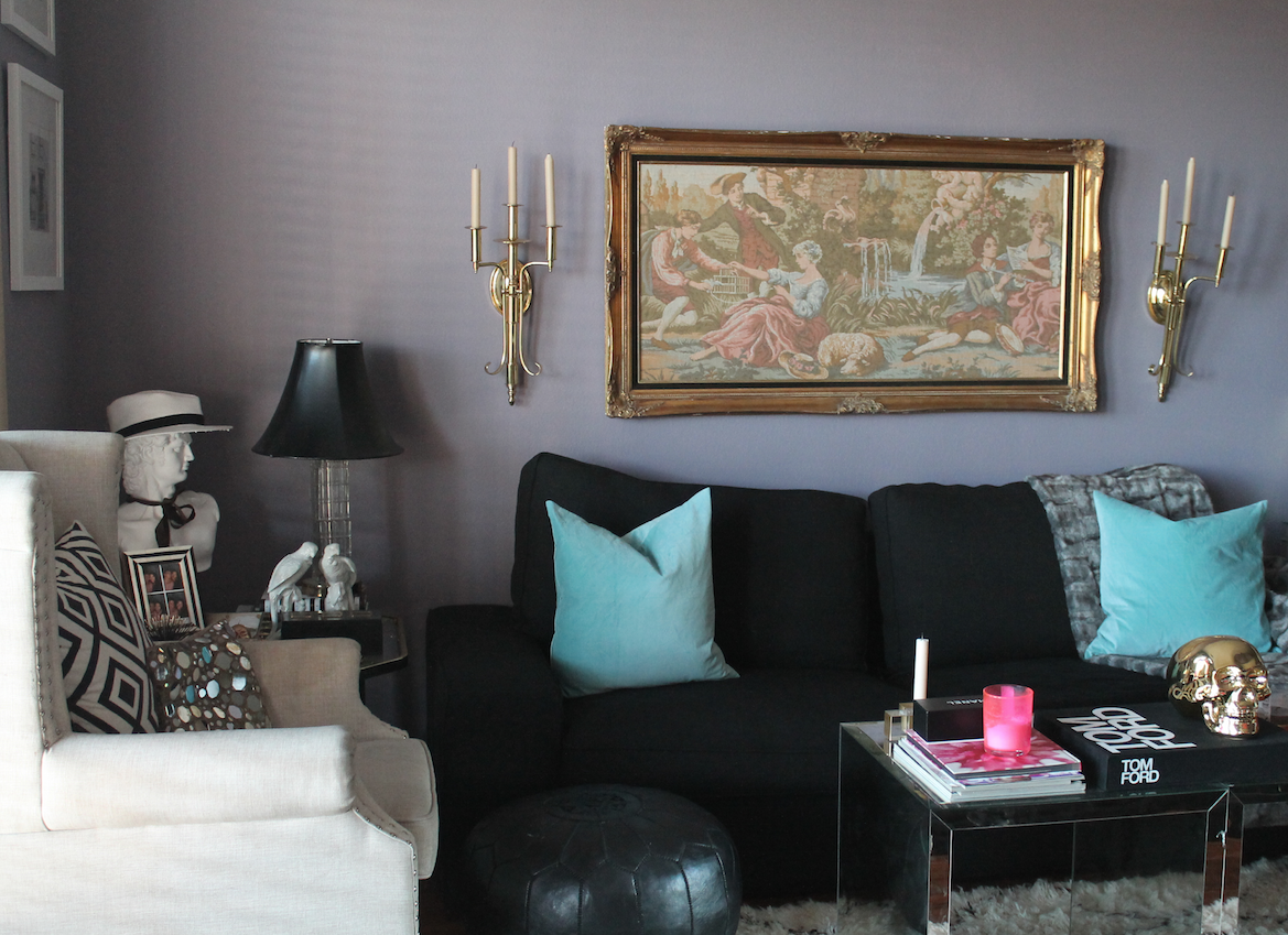 The Decorista living room