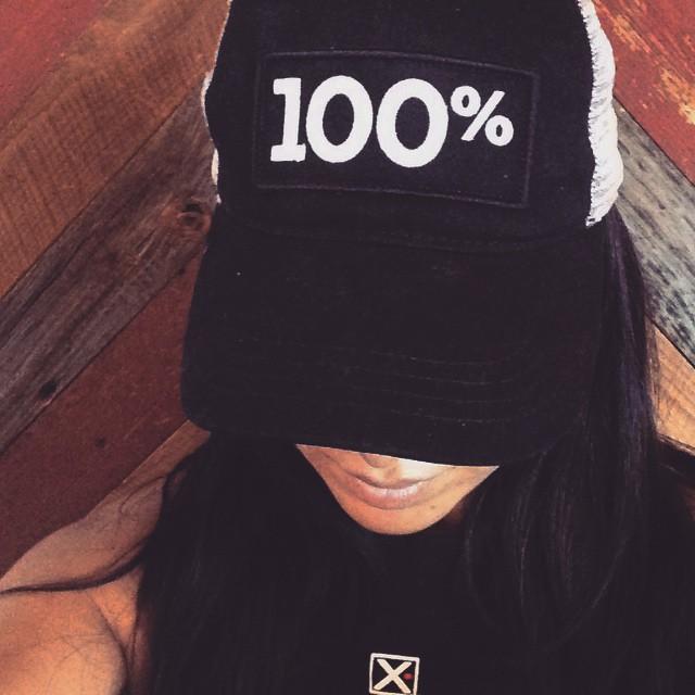 one hundred percent hat