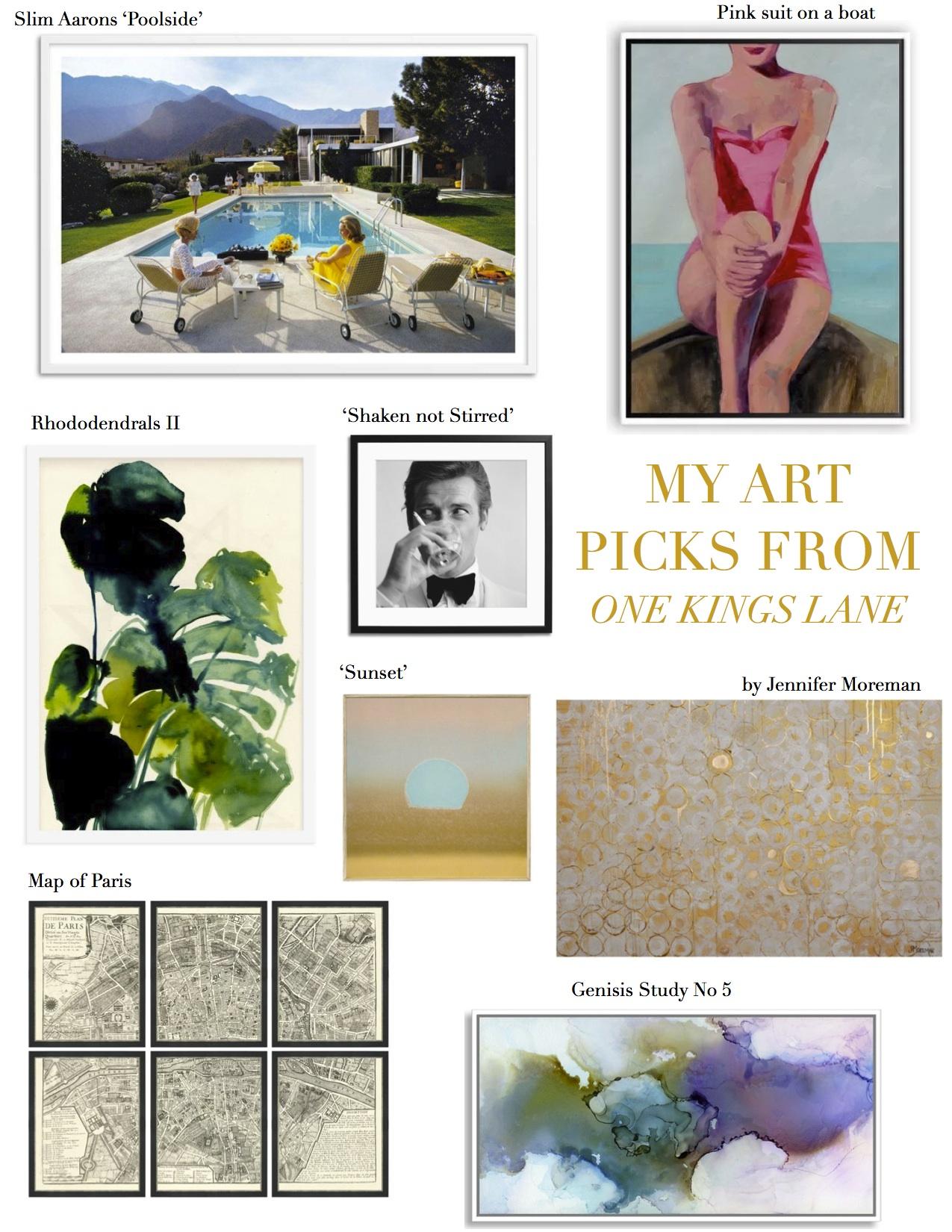One Kings Lane - Art selections - The Decorista