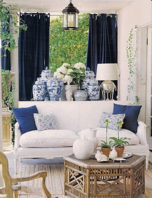 Blue White Interiors A Modern Mix Blissful Living X Ashlina