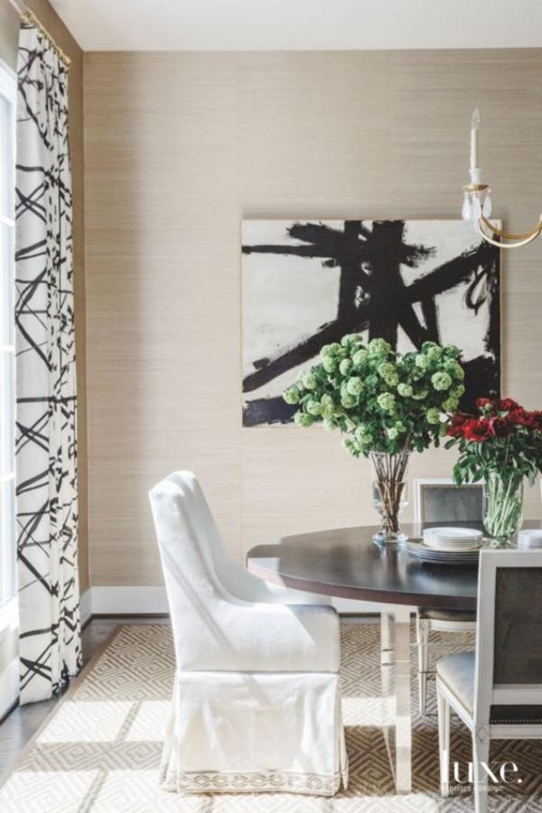 chic dining room
