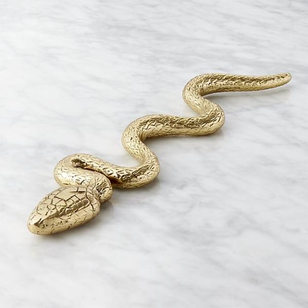 brass snake