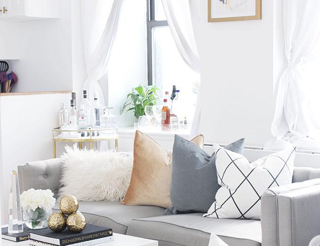 white living room city chic