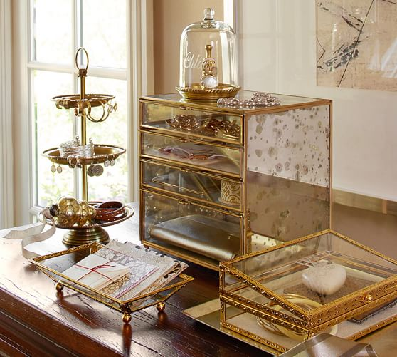 antique gold display