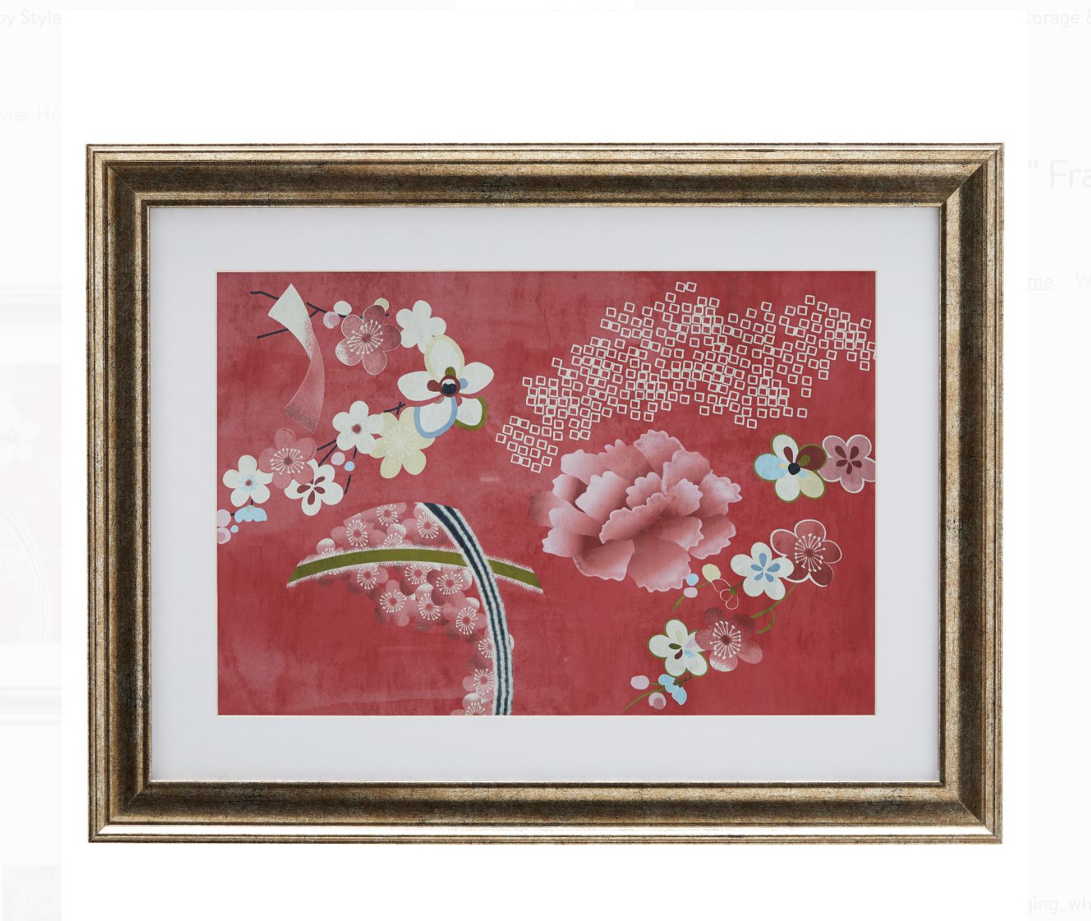 flower pink pop art