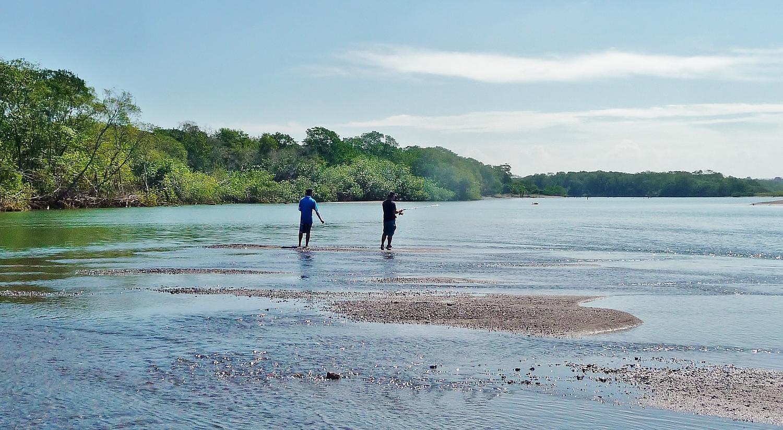 Fishing Bongo River