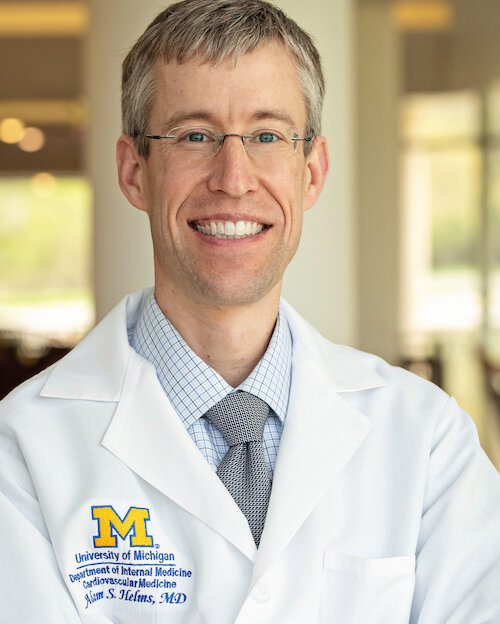 Dr. Adam Helms is an Assistant Professor of Internal Medicine at the University of Michigan. He received his medical degree from the University of Virginia. He completed his cardiovascular medicine fellowship and postdoctoral studies in molecular genetics at the University of Michigan.