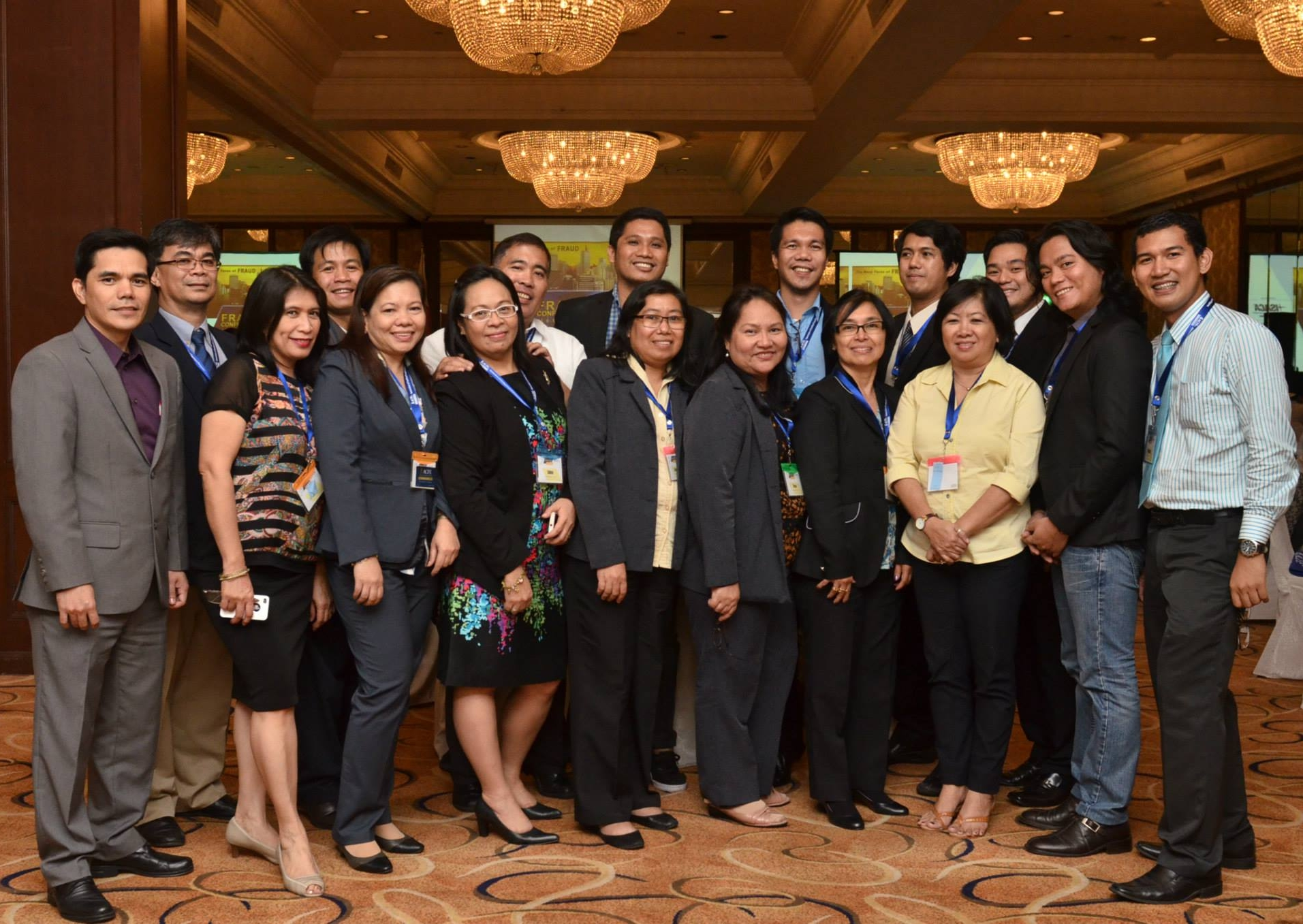 CFEs from the Philippines Commission on Audit at Fraud Conference Manila.