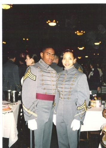 Reid and his wife Jamie at West Point.