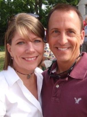 Melissa and husband Phil.