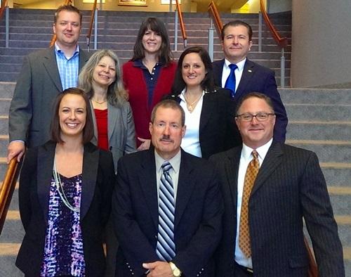 The ACFE Colorado Chapter board of directors. Back row (L to R): Ken King, CFE, Heather Bays, CFE, Dr. Johnnie Bejarano, DBA, CFE. Middle row (L to R): Rose Zaccaro, CFE, Joanna Sorbi, CFE. Front row (L to R): Emily Wells, CFE, John Incampo, CFE, Gary Schwartz, CFE.