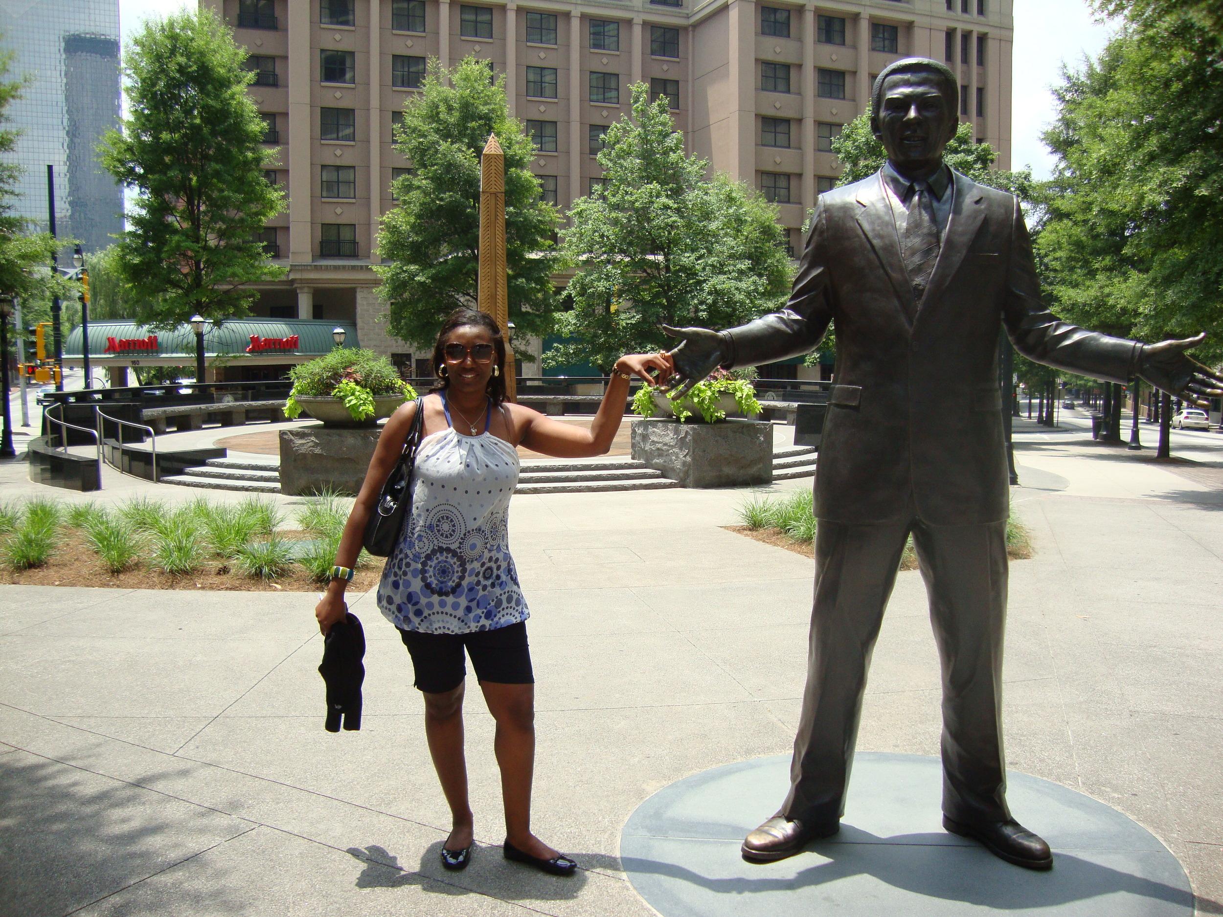 Vanessa C. Ngalle Mbondjo in Atlanta.