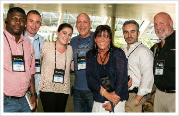 Attendees enjoying themselves at the 26th Annual ACFE Global Fraud Conference in Baltimore.