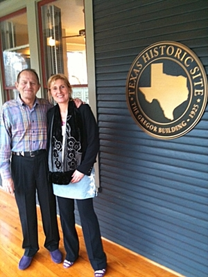 Luypaert with ACFE Founder and Chairman Dr. Joseph T. Wells, CFE, at the ACFE Global Headquarters.
