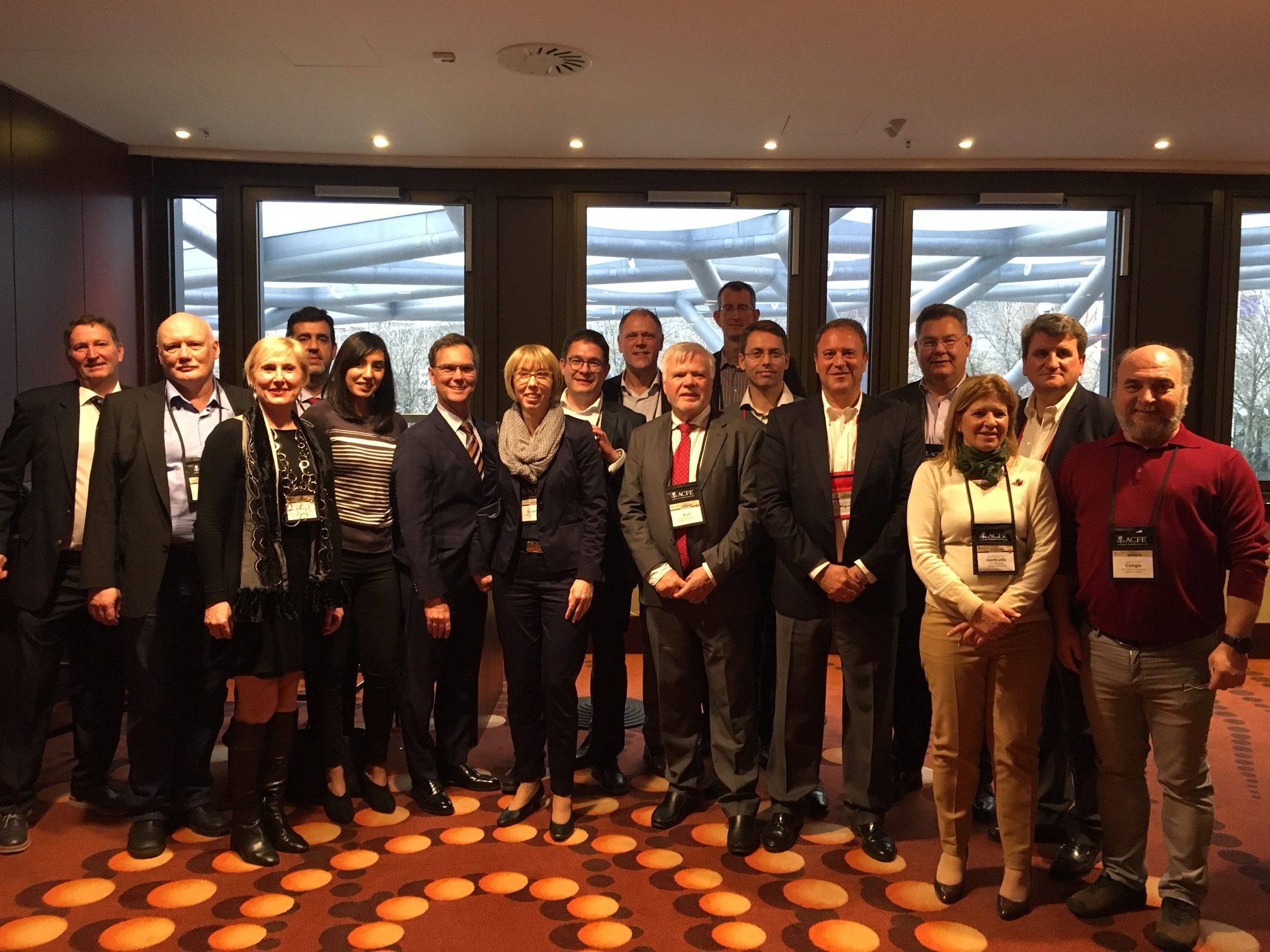 European Chapter Leaders meet in Frankfurt