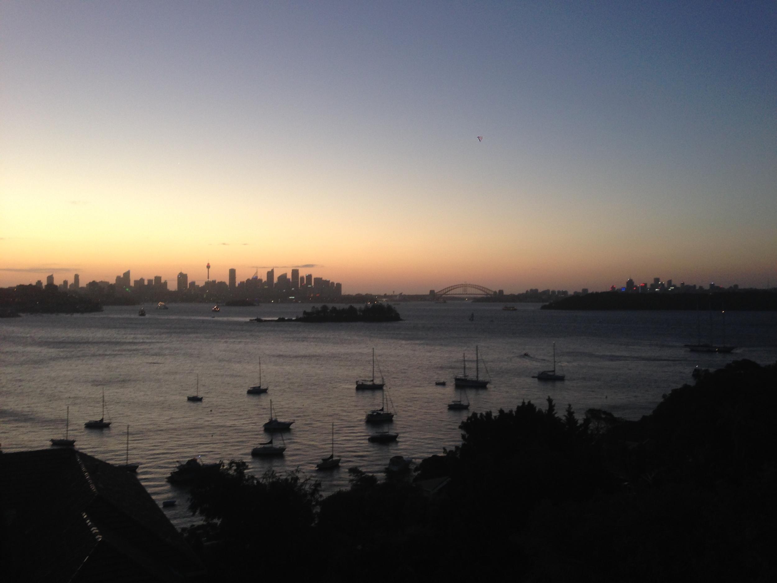 A Tourist Day in Sydney