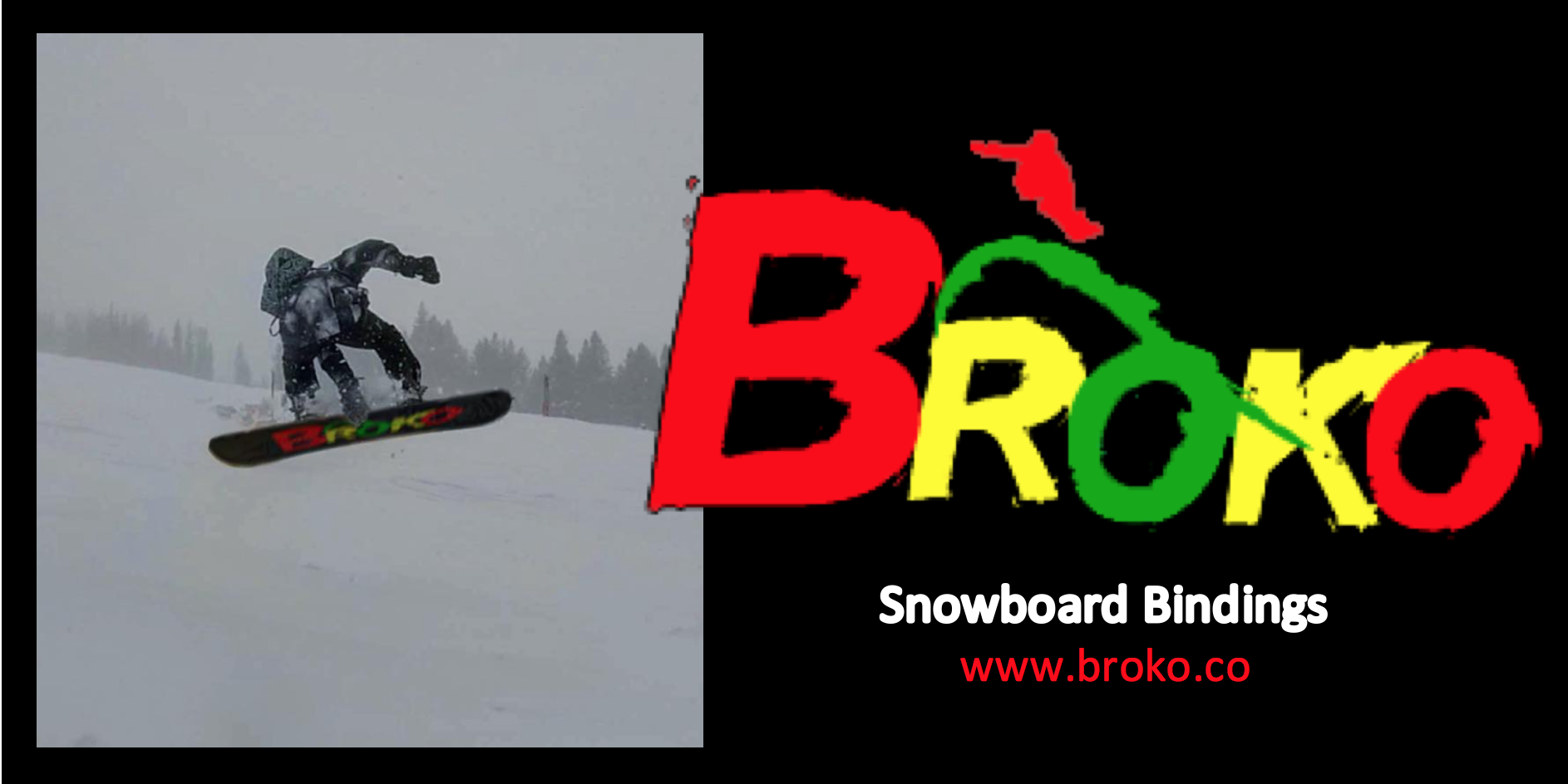 Snowboard Bindings Rotational Broko