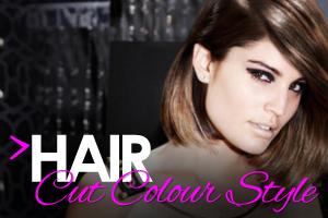 Hair cut colour and style