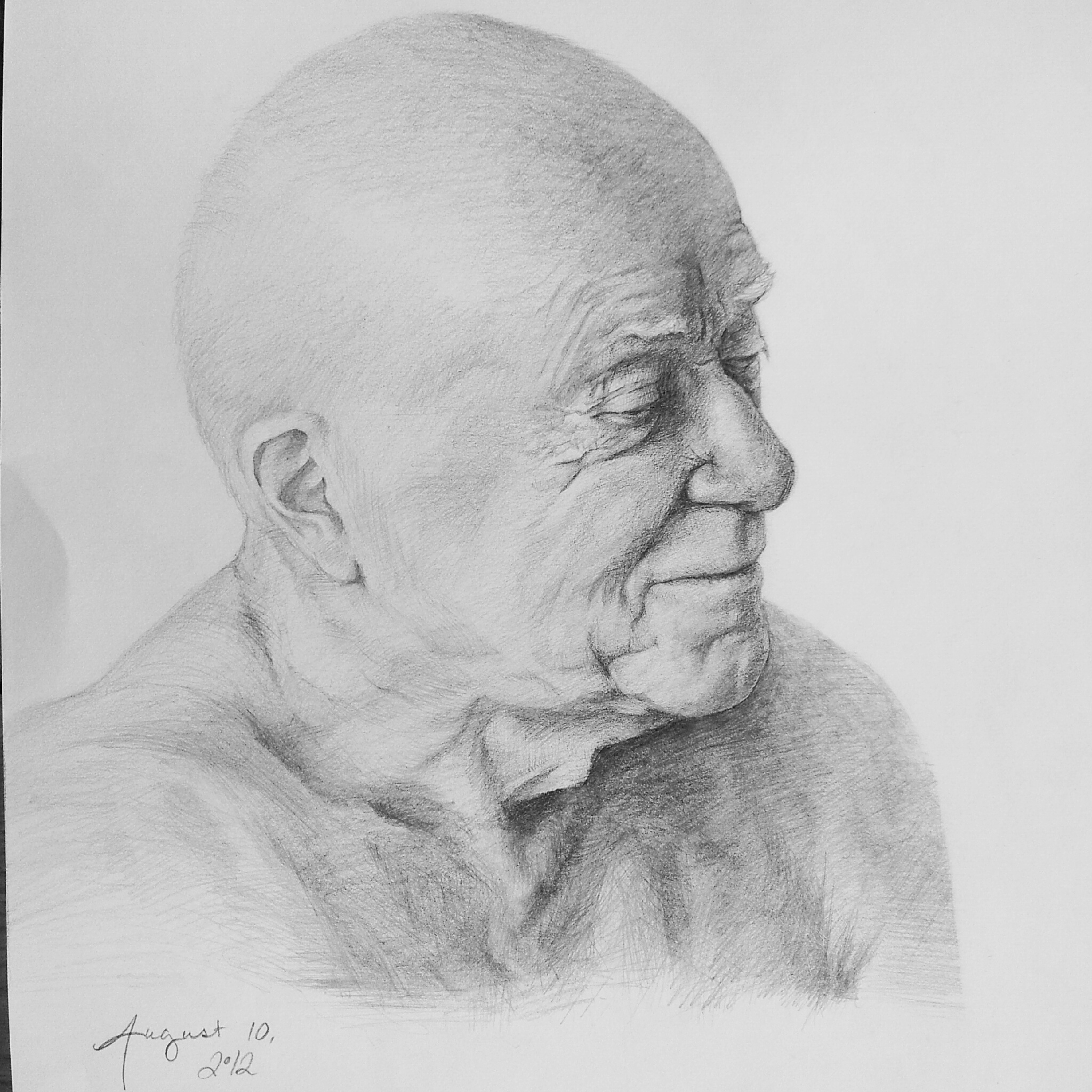 life sketch of a gentleman